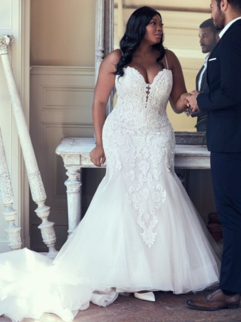 Fit and Flare Bridal Gown