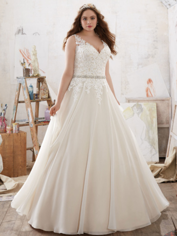 Michelle Plus Size Wedding Dress