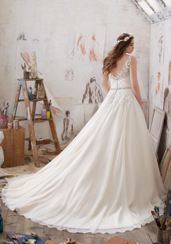 Michelle Plus Size Wedding Dress