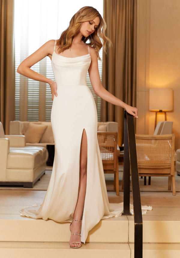 Our Camden wedding dress is the epitome of sultry sophistication.